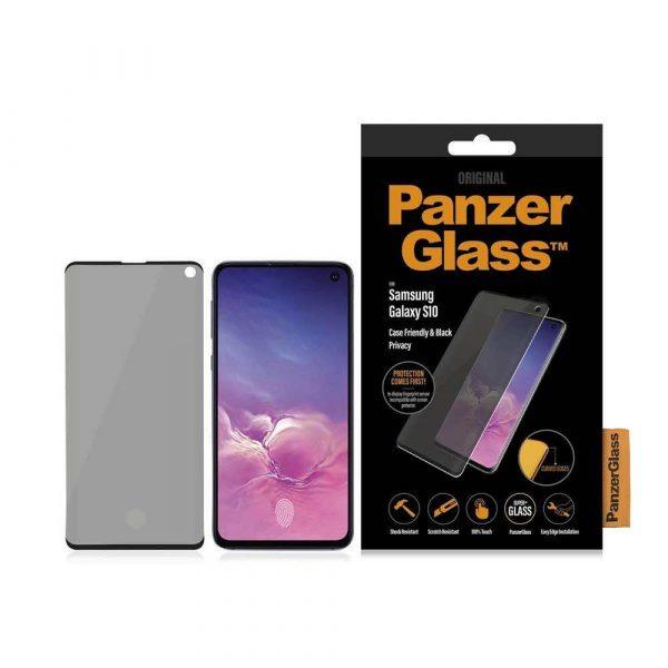 akcesoria biurowe 7 alibiuro.pl Szko ochronne hartowane PanzerGlass P7175 do Samsung Galaxy S10 60