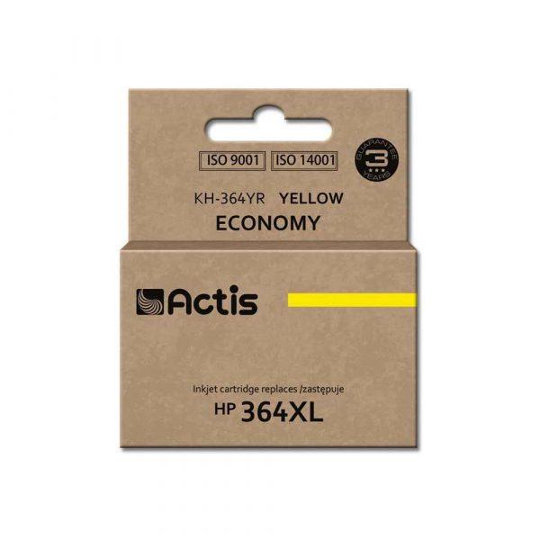 akcesoria biurowe 7 alibiuro.pl Tusz ACTIS KH 364YR zamiennik HP 364XL CB325EE Standard 12 ml ty 35