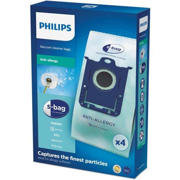 akcesoria do odkurzaczy 7 alibiuro.pl Worek do odkurzacza AEG Electrolux Philips Materia syntetyczny Philips FC8022 04 4 szt. 49