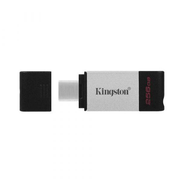 akcesoria komputerowe 7 alibiuro.pl KINGSTON FLASH 256GB USB C 3.2 Gen 1 DT80 256GB 93