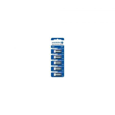 akumulatory 7 alibiuro.pl EVERACTIVE BATERIE ALKALICZNE A23 12V BLISTER 5 SZT. 23A5BL 82