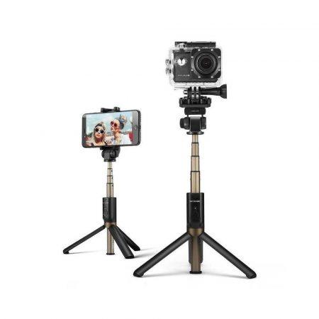 aparaty fotograficzne 7 alibiuro.pl Selfie stick BlitzWolf BW BS3 Sport Black kolor czarny 95