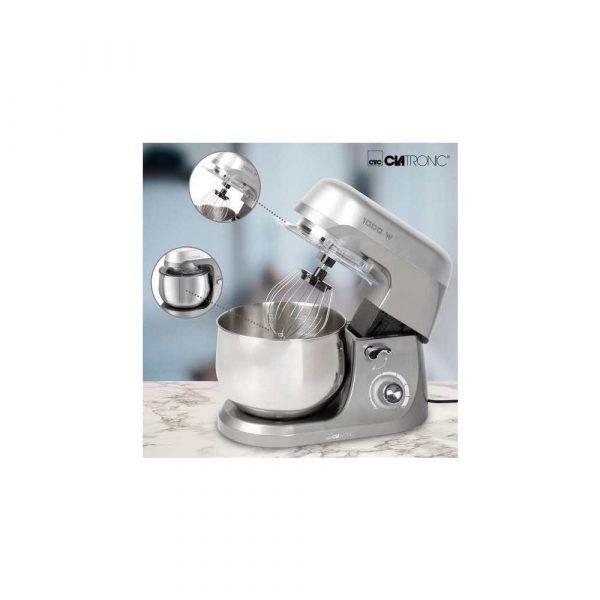 artykuły AGD drobne 7 alibiuro.pl Robot kuchenny Clatronic KM 3709 1000W szary 23