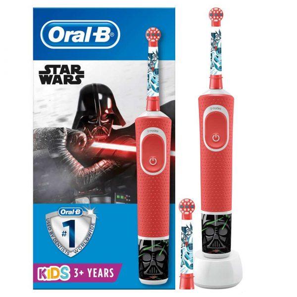 artykuły AGD drobne 7 alibiuro.pl Szczoteczka do zbw Braun Oral B D100 kids Star Wars czerwony pudeko 11
