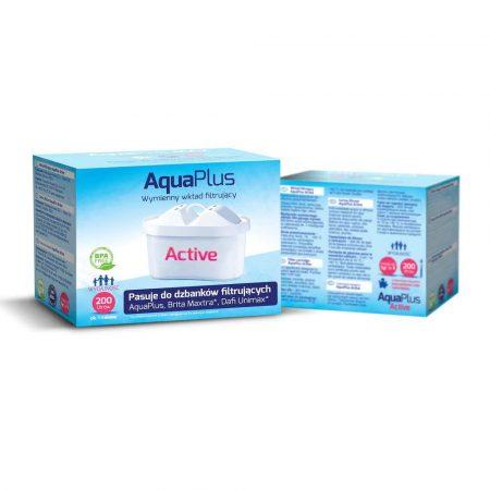 artykuły agd 7 alibiuro.pl Wkad filtrujcy do dzbanka AquaPlus Active 12