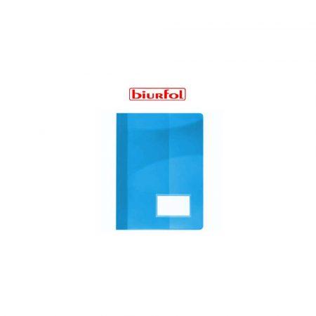 artykuły biurowe 1 alibiuro.pl Skoroszyt sztywny z okienkiem A4 ST 19 Biurfol niebieski 13