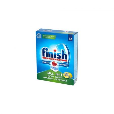 artykuły biurowe 1 alibiuro.pl Tabletki do zmywarki Finish All in One Lemon 50 szt 20
