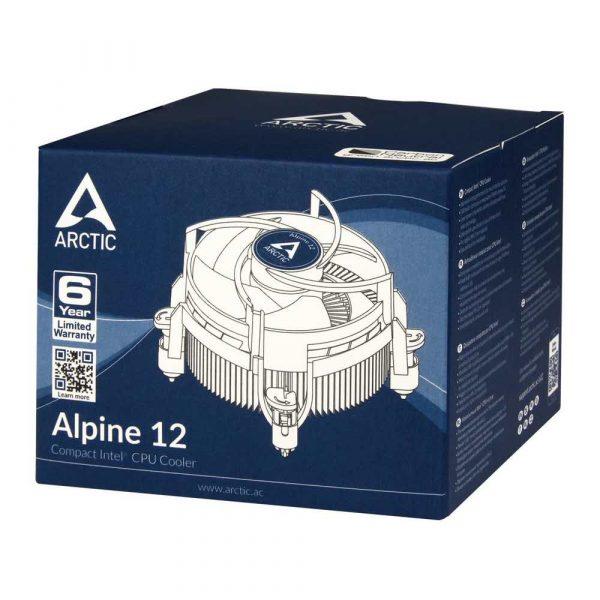 artykuły biurowe 7 alibiuro.pl Chodzenie do procesora Arctic Cooling Alpine 12 ACALP00027A LGA 1150 LGA 1151 LGA 1155 LGA 1156 56