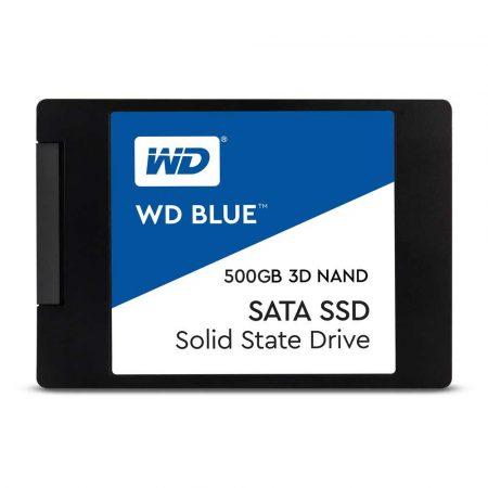 artykuły biurowe 7 alibiuro.pl Dysk SSD WD Blue WDS500G2B0A 500 GB 2.5 Inch SATA III 82