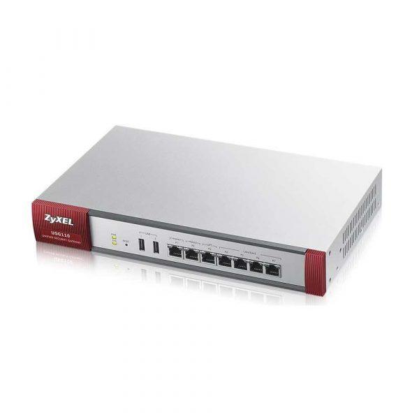 artykuły biurowe 7 alibiuro.pl Firewall ZyXEL USG110 EU0102F 4x 10 100 1000Mbps 2