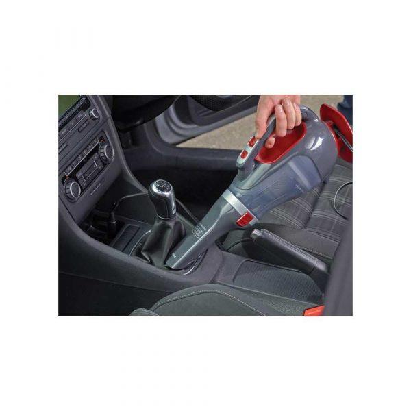 artykuły biurowe 7 alibiuro.pl Odkurzacz samochodowy BLACK DECKER ADV1200 XJ 12W kolor czerwono szary 63