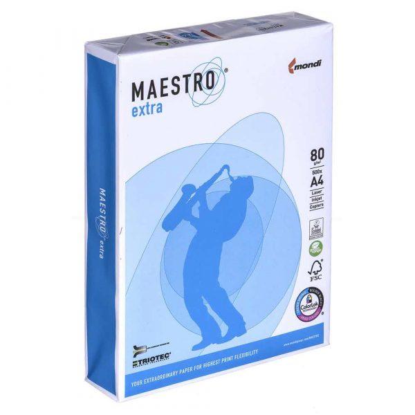 artykuły biurowe 7 alibiuro.pl Papier Xero Igepa Maestro Triotec Extra 9457A80 A4 80g m2 500 szt. 20