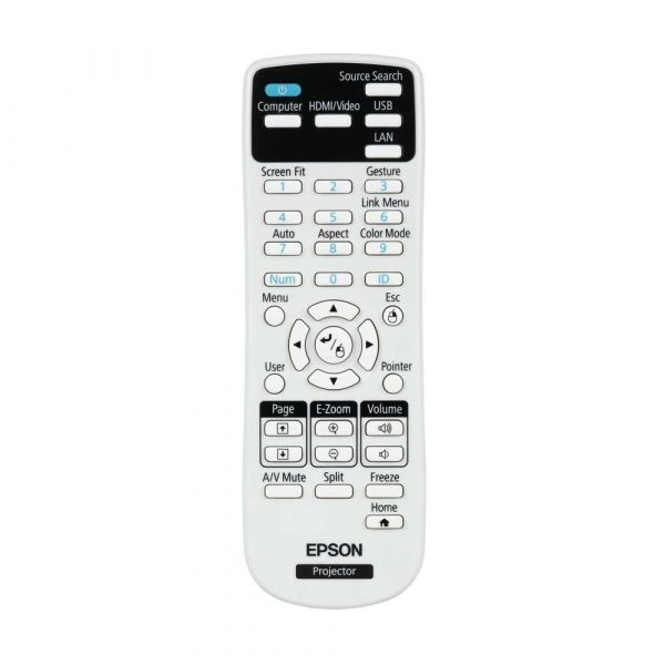 artykuły biurowe 7 alibiuro.pl Projektor Epson EB 2250U V11H871040 3LCD WUXGA 1920x1200 5000 ANSI 15000 1 21