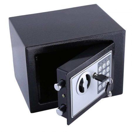 artykuły biurowe 7 alibiuro.pl Sejf elektroniczna IBOX ISD 0117x23 170mm x 230mm x 170 mm 14