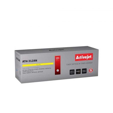 artykuły biurowe 7 alibiuro.pl Toner Activejet ATH 312AN zamiennik Canon HP 126A CRG 729Y CE312A Premium 1000 stron ty 67