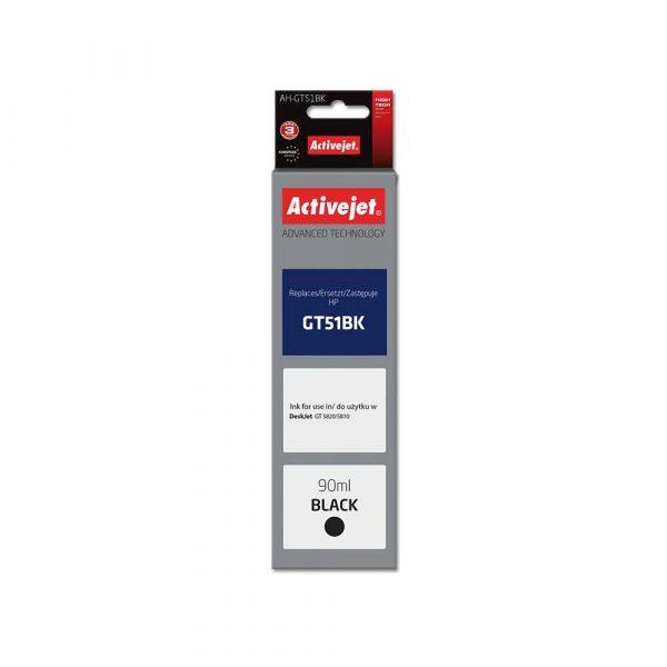 artykuły biurowe 7 alibiuro.pl Tusz Activejet AH GT51Bk zamiennik HP GT51BK M0H57AE Supreme 90 ml czarny 77