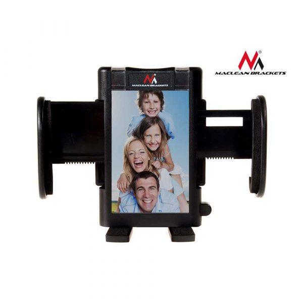 artykuły biurowe 7 alibiuro.pl Uchwyt samochodowy do smartfona Maclean MC 659 kolor czarny 57