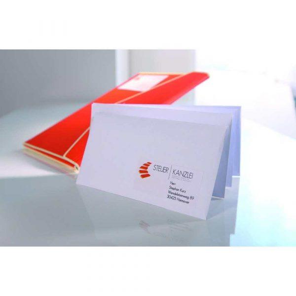 artykuły biurowe 7 alibiuro.pl Zestaw etykiet uniwersalne Do nadruku AVERY Zweckform 3652 10 70mm x 42.3mm Papier kolor biay 67
