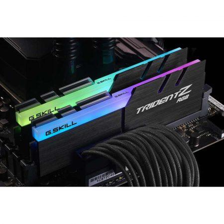 artykuły biurowe 7 alibiuro.pl Zestaw pamici G.SKILL TridentZ RGB F4 3200C16D 16GTZRX DDR4 DIMM 2 x 8 GB 3200 MHz CL16 49