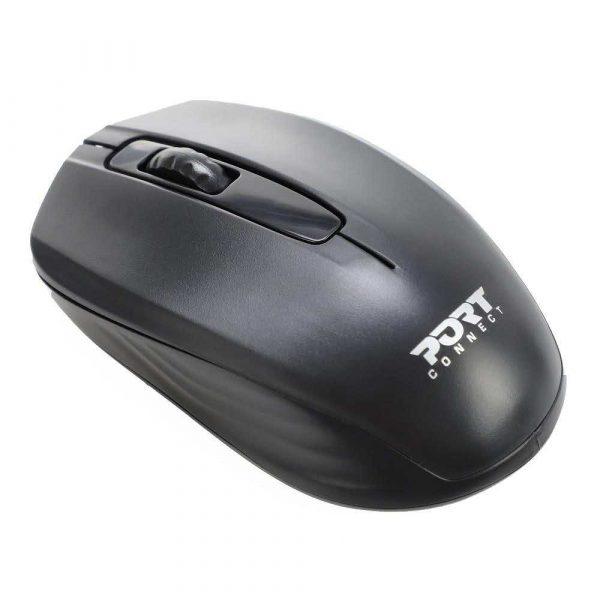 artykuły biurowe 7 alibiuro.pl Zestaw torba mysz PORT DESIGNS Premium Pack 501873 Top Load wireless 1000 DPI USB C USB A kolor czarny 82