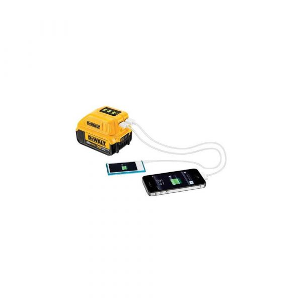 artykuły dla biura 7 alibiuro.pl Adapter USB do adowania DeWalt DCB090 XJ Li Ion 230 V 5