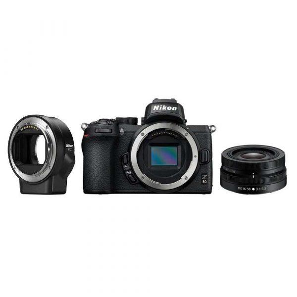 artykuły dla biura 7 alibiuro.pl Aparat bezlusterkowy Nikon Z50 VOA050K004 APS C 53
