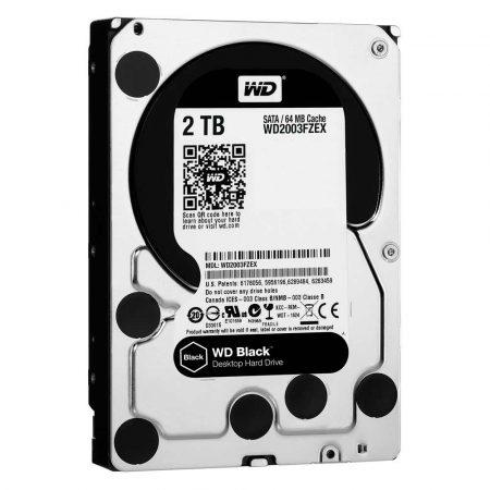 artykuły dla biura 7 alibiuro.pl Dysk HDD WD Black WD2003FZEX 2 TB 3.5 Inch 64 MB 7200 obr min 57