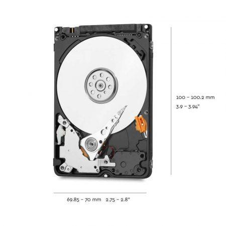 artykuły dla biura 7 alibiuro.pl Dysk HDD WD Blue WD20SPZX 2 TB 2.5 Inch 128 MB 5400 obr min 77