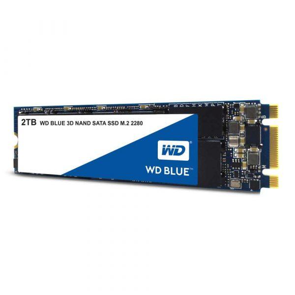 artykuły dla biura 7 alibiuro.pl Dysk SSD WD Blue WDS200T2B0B 2 TB M.2 SATA III 48