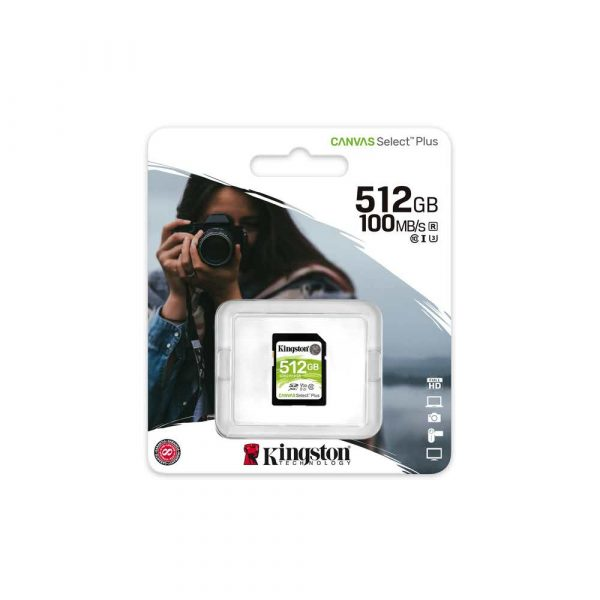 artykuły dla biura 7 alibiuro.pl Karta pamici Kingston Canvas Select Plus SDS2 512GB 512GB Class U3 V30 Karta pamici 13