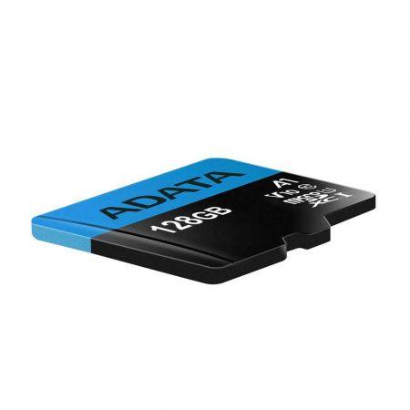artykuły dla biura 7 alibiuro.pl Karta pamici z adapterem ADATA Premier AUSDX128GUICL10A1 RA1 128GB Class 10 adapter 2