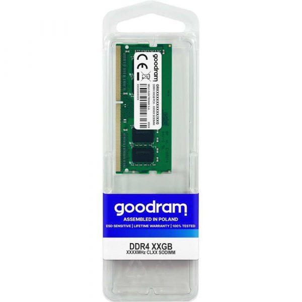 artykuły dla biura 7 alibiuro.pl Pami GoodRam GR2666S464L19S 4G DDR4 SO DIMM 1 x 4 GB 2666 MHz CL19 2