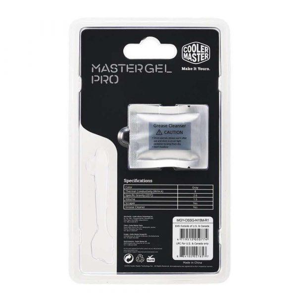 artykuły dla biura 7 alibiuro.pl Pasta termoprzewodzca Cooler Master MasterGel Pro 3 8g 1 5ml 85