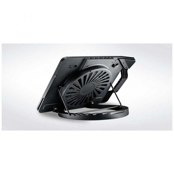 artykuły dla biura 7 alibiuro.pl Podstawka chodzca pod laptop Cooler Master Notepal Ergostand III R9 NBS E32K GP 17.x cala 1 wentylator HUB 81