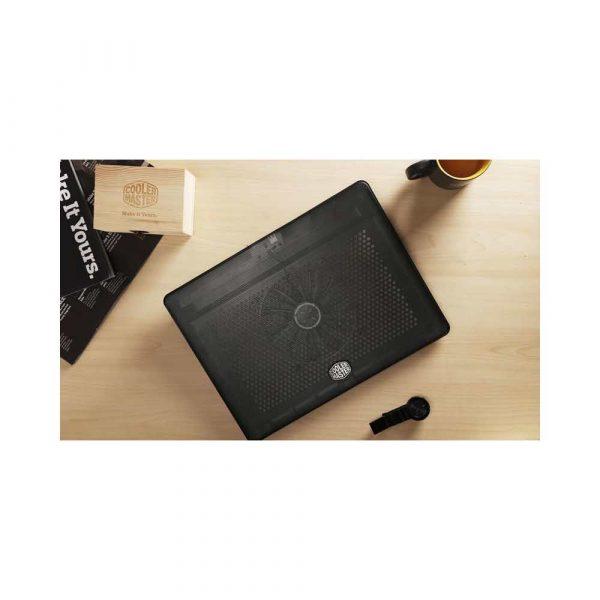 artykuły dla biura 7 alibiuro.pl Podstawka chodzca pod laptop Cooler Master Notepal L2 MNW SWTS 14FN R1 17.x cala 1 wentylator 91