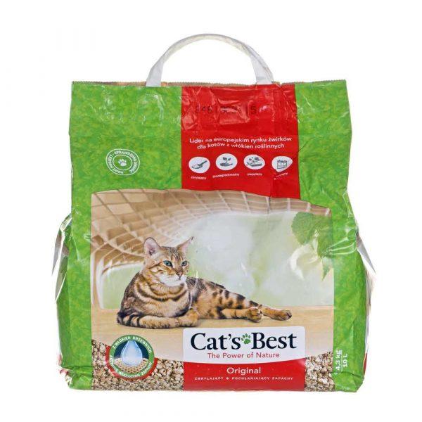 artykuły dla zwierząt 7 alibiuro.pl wirek JRS Cat Inch s Best Eco Plus 10l 10