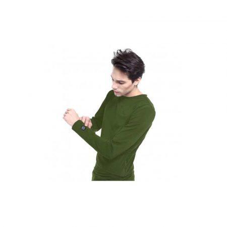 bluzy 7 alibiuro.pl Bluza z ogrzewaniem Glovii GJ1CS S kolor zielony 61