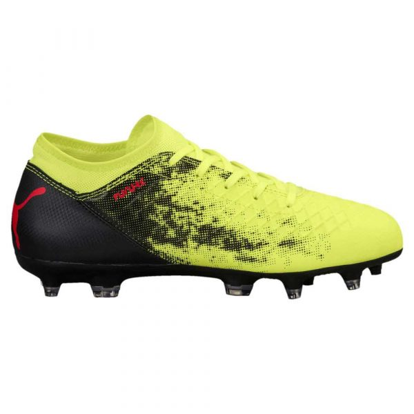 buty do piłki nożnej 7 alibiuro.pl FUTURE 18 4 FG AG Jr Fizzy Yellow Red Bl 61