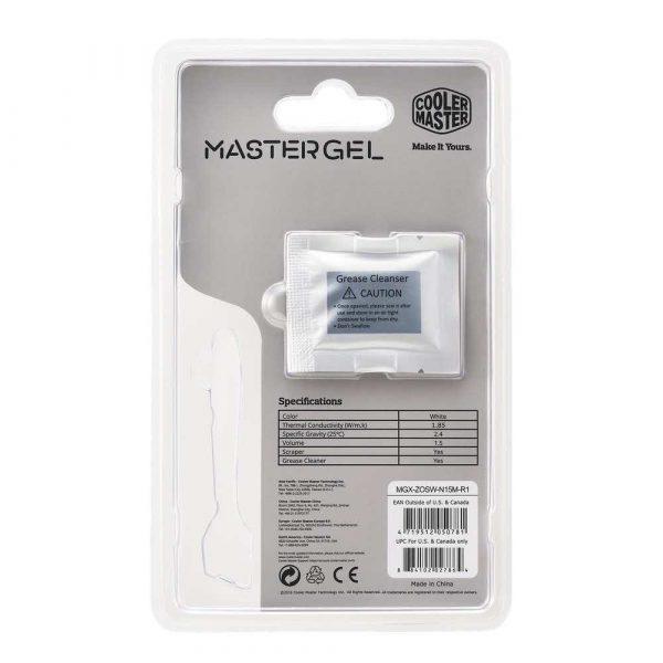 chłodzenie 7 alibiuro.pl Pasta termoprzewodzca Cooler Master Mastergel MGX ZOSW N15M R1 91