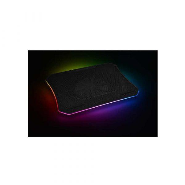 chłodzenie 7 alibiuro.pl Podkadka chodzca pod laptop Thermaltake Massive 20 RGB CL N014 PL20SW A 19 cali 1 wentylator 94
