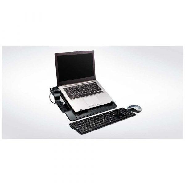 chłodzenie 7 alibiuro.pl Podstawka chodzca pod laptop Cooler Master Notepal Ergostand III R9 NBS E32K GP 17.x cala 1 wentylator HUB 26