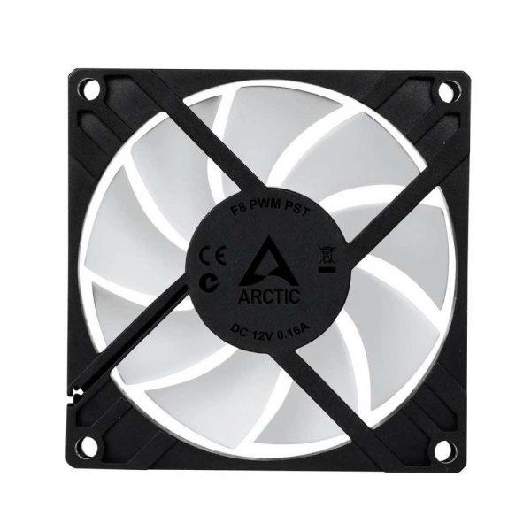 chłodzenie 7 alibiuro.pl Wentylator Arctic Cooling F8 PWM PST AFACO 080P0 GBA01 80 mm 2000 obr min 82