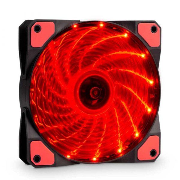 chłodzenie 7 alibiuro.pl Wentylator LED Akyga AW 12C BR 120 mm Czerwony 80