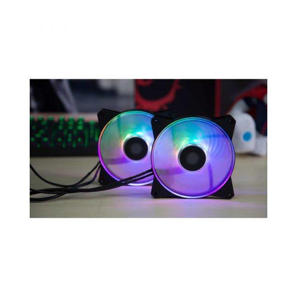 chłodzenie 7 alibiuro.pl Wentylator do obudowy Cooler Master Masterfan 120R ARGB R4 120R 20PC R1 120 mm 2000 obr min ARGB 74