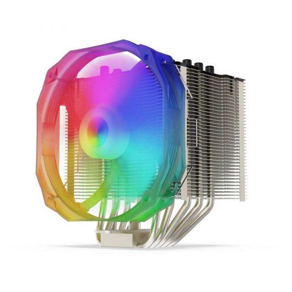 chłodzenie CPU 7 alibiuro.pl Wentylator SilentiumPC Fortis 3 EVO ARGB HE1425 92