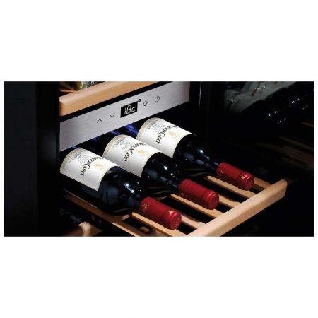 chłodziarki do wina 7 alibiuro.pl Lodwka caso WineComfort 380 SMART 720 1040mm x 675 mm Klasa A kolor srebrny 87