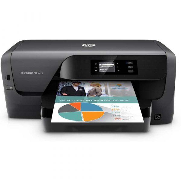 drukarki atramentowe kolorowe 7 alibiuro.pl Drukarka atramentowa HP OfficeJet Pro 8210 D9L63A A4 78