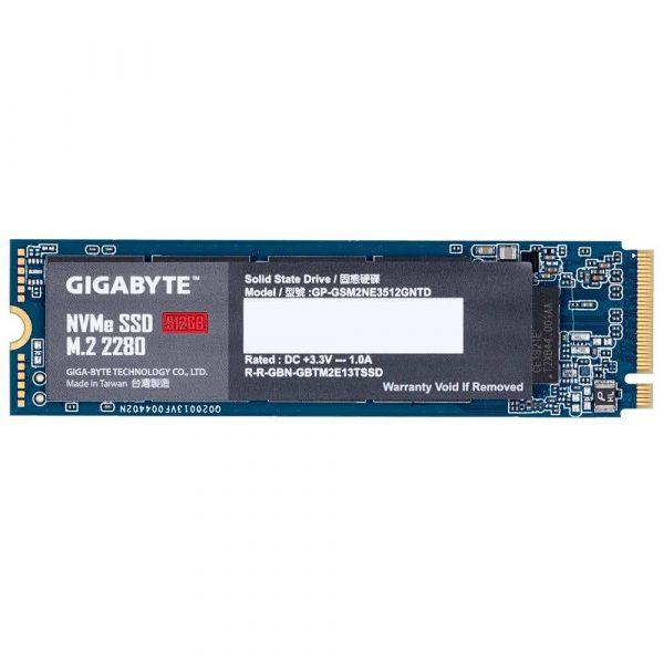 dyski 7 alibiuro.pl Dysk Gigabyte GP GSM2NE3512GNTD 512 GB M.2 PCIe NVMe 3.0 x4 50