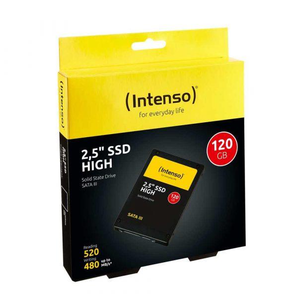 dyski 7 alibiuro.pl Dysk INTENSO 3813430 120 GB 2.5 Inch SATA III 14