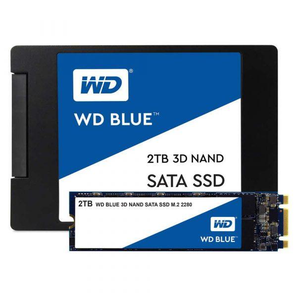 dyski 7 alibiuro.pl Dysk SSD WD Blue WDS200T2B0B 2 TB M.2 SATA III 22
